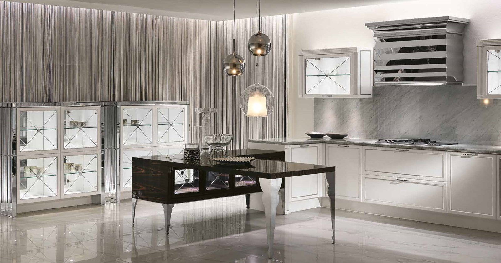 Фабрика Aster Cucine. Каталог Luxury Glam.