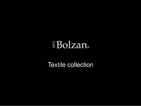 Фабрика Bolzan Letti. Каталог textile collection.