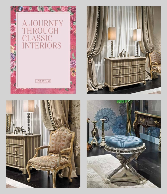 Фабрика Provasi. Каталог A Journey Through Classic Interiors 2018