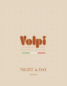 Фабрика Volpi. Каталог Volpi Cat Day&night 2018.