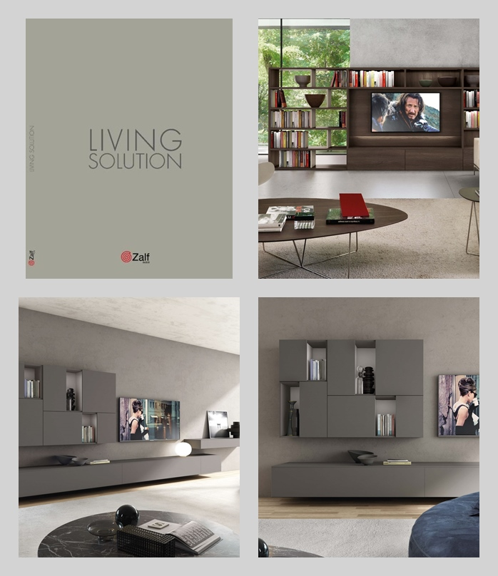 Фабрика Zalf. Каталог  zalf catalogo 2018 living