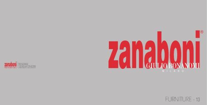 Фабрика Zanaboni. Каталог ZANABONI cat 13 BONANOMI Furniture.
