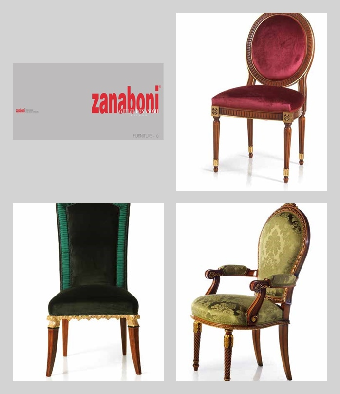 Фабрика Zanaboni. Каталог ZANABONI cat 13 BONANOMI Furniture